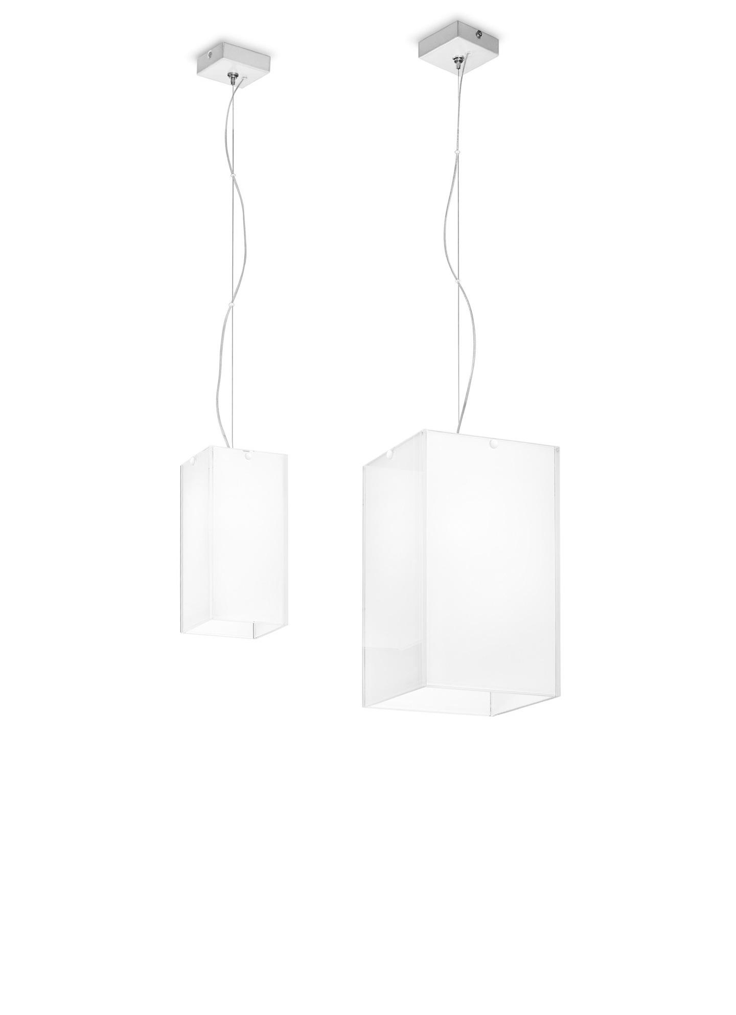 Gluéd Lámpara Colgante S blanco