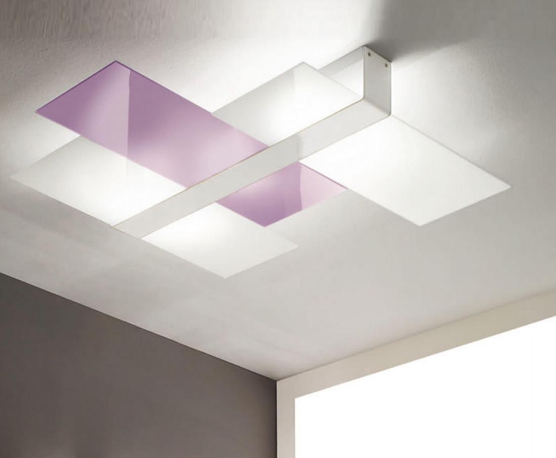 Triad Wall/Ceiling lamp Big White