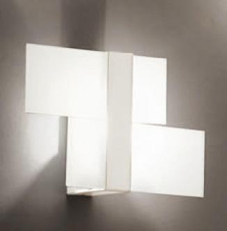 Triad Wall/Ceiling lamp Small 2 White