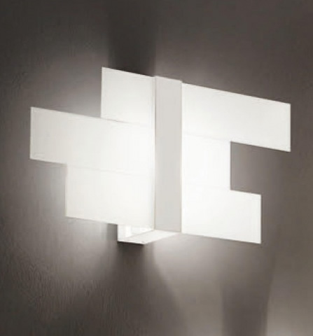Triad Wall/Ceiling lamp Small 3 White