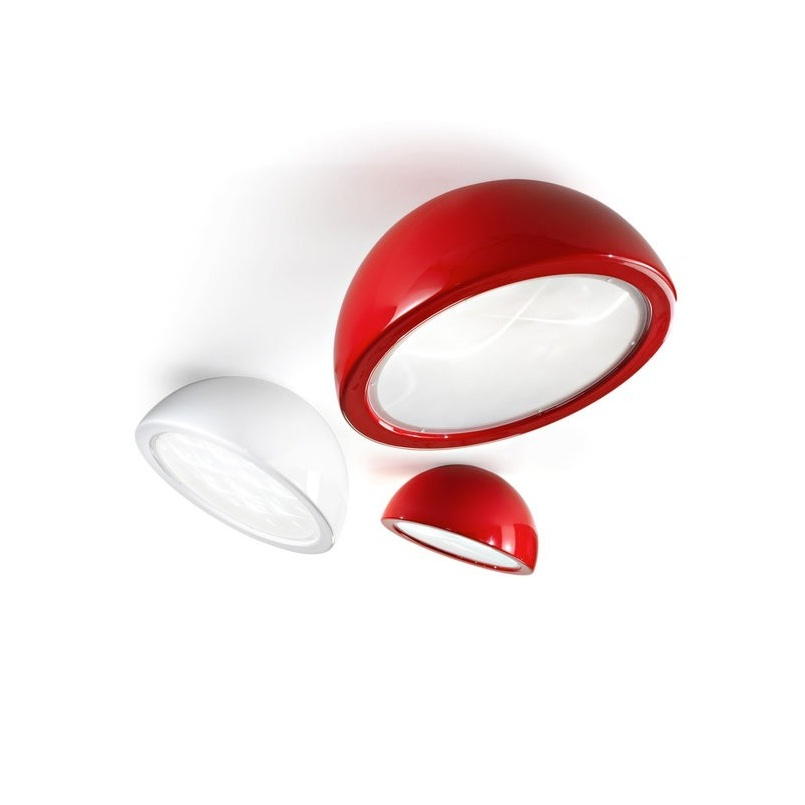 Entourage ceiling lamp ø74cm E27 3x42w Lacquered Red