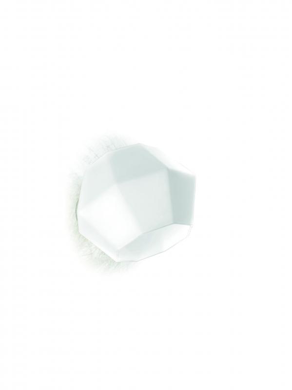 Ottagono Wall Lamp 36cm E27 52w Glass opal