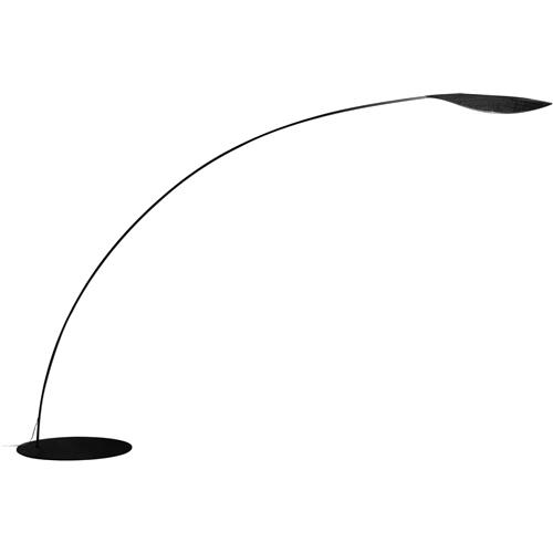 Folia lámpara of Floor Lamp 222cm LED 24w 3000K Fibra carbono
