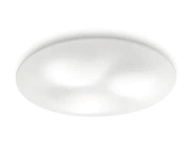 Circle Wave Plafón ø89cm LED 48w 3000K blanco