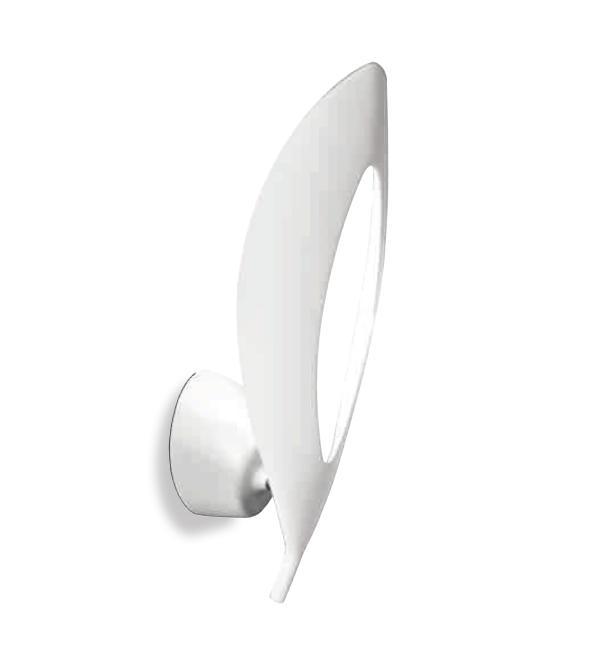 Folia Wall Lamp LED 1 x 12w 3000K white