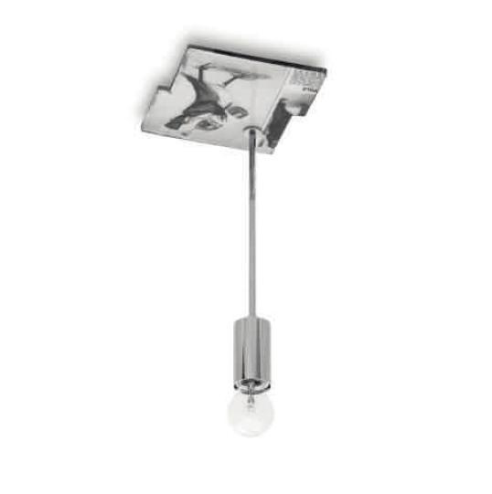 Momaboma Pendant Lamp 1xE27 42w Chrome