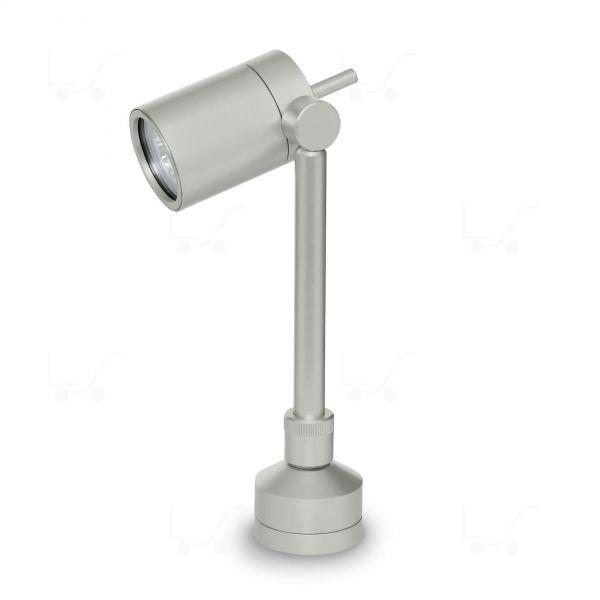 Vision 2 Baliza de jardín Mediano ajustable QPAR16 50W Aluminio gris