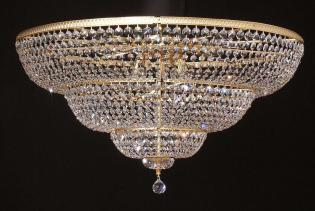 Semi ceiling lamp Glass Lbd0021.12