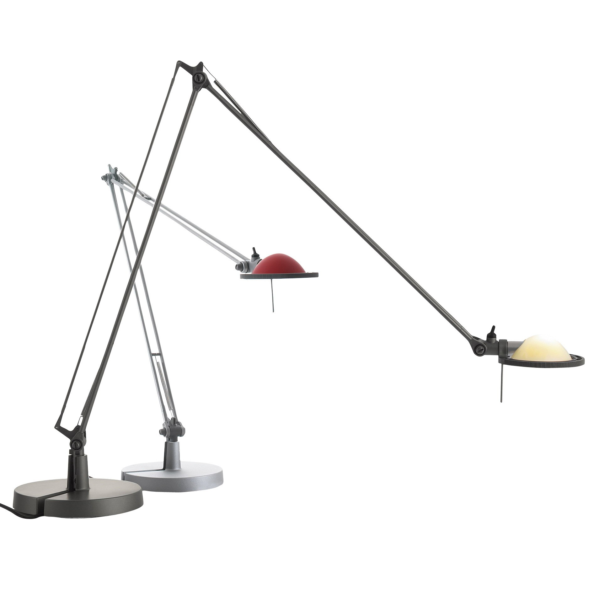 Berenice D12EL Balanced-arm lamp with base of 45cm Gy6,35 35w Black
