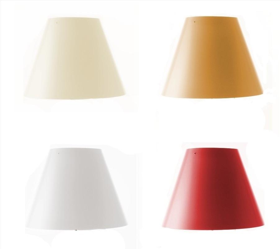 D13pi/1/2 Costanzina Accessory lampshade ø26cm (2 units packaging) Black