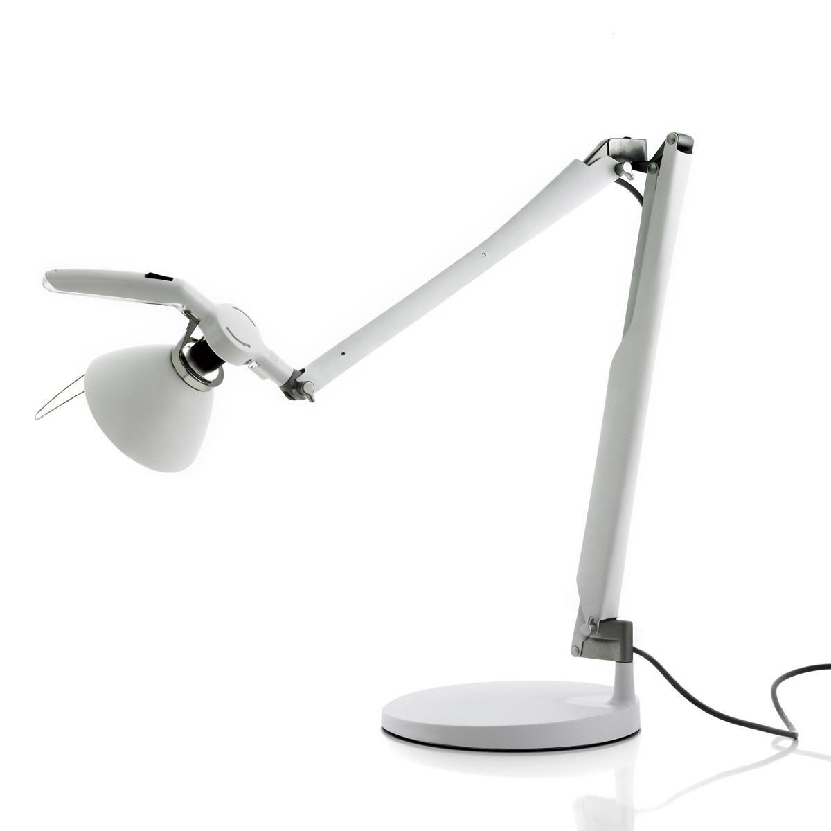 D33N.100 Fortebraccio (Structure) Balanced-arm lamp with switch ø16cm E27 white