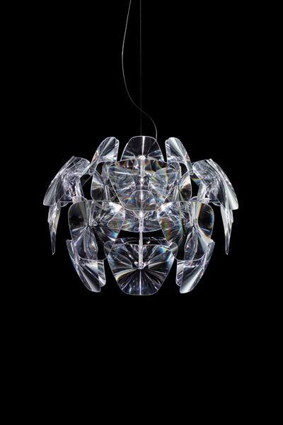 D66/12 Hope Pendant Lamp descantrada ø61cm 23w E27 FBT Transparent
