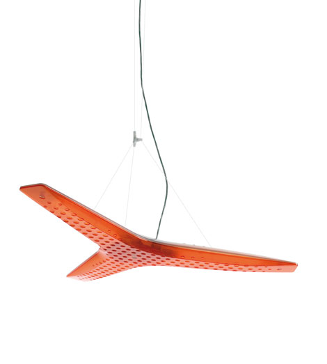 Aircon Lamp Pendant Lamp orange