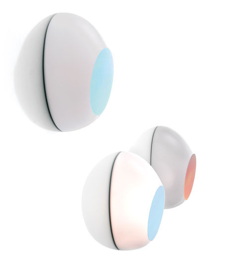 Goggle Wall lamp/ceiling lamp G24q-2 1x18w electr.iridescente