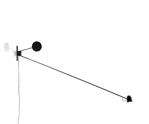 Counterbalance Wall Lamp LED 15w EU D73 - Black
