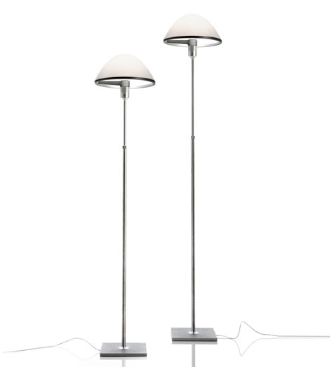 Miranda Lamp Floor Lamp (solo Structure) telescópica with base and dimmer - Aluminium