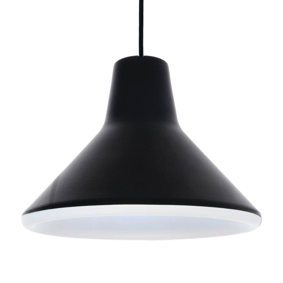 Archetype Pendant Lamp 10W LED Black