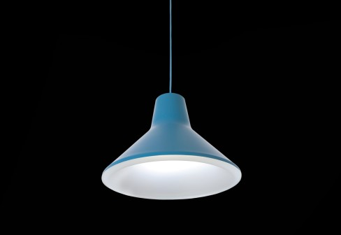 Archetype Colgante 10W LED Azul