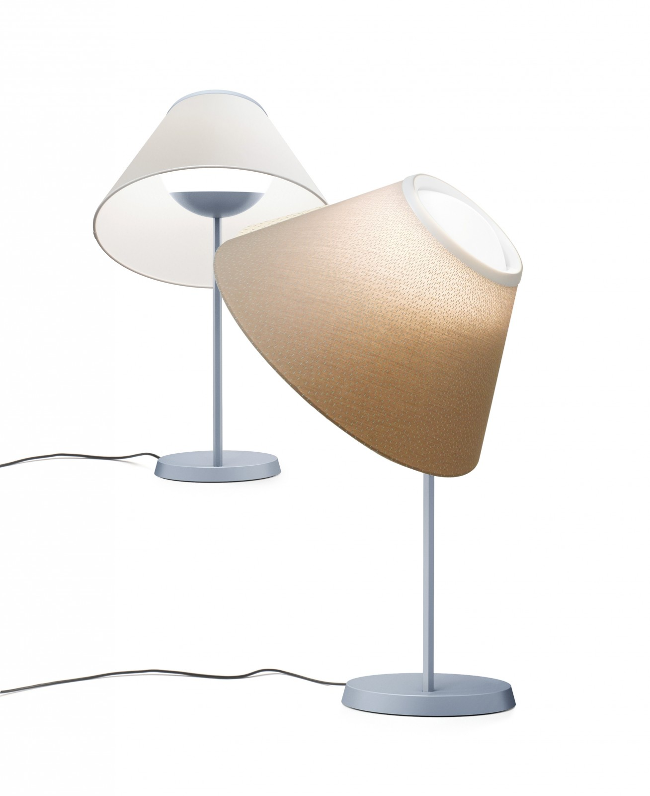 Cappuccina (Solo Structure) Table Lamp without lampshade LED 15W dimmer - Grey claro