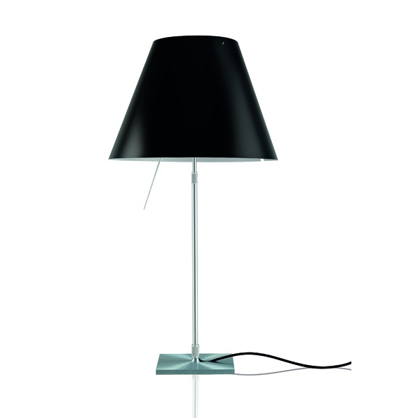 Costanzina (Accessory) lampshade 26cm - Black hollín