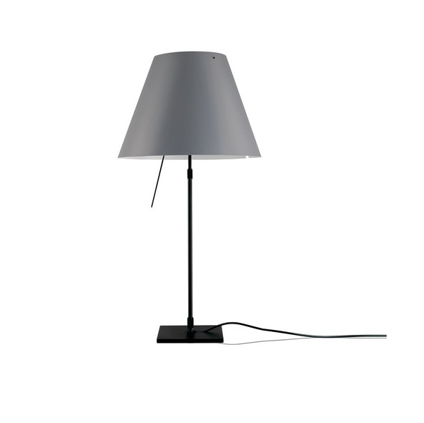 Costanzina (Solo Structure) Table Lamp Small without lampshade - Black