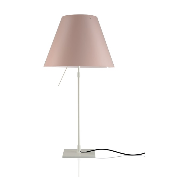 Costanzina (Solo Structure) Table Lamp Small without lampshade - white