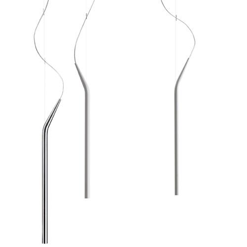 Mini Mini Pendant Lamp GY6,35 35w + rosone E08100 Chrome