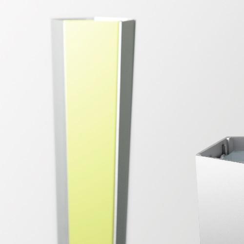 Tibibi Lámpara de Pie LED 18W 3000K Amarillo