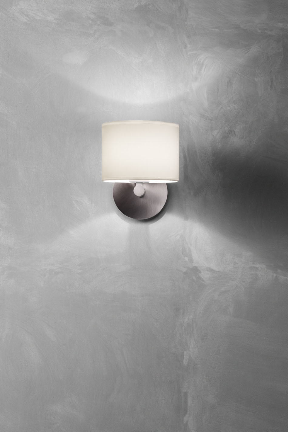 2126 1 ceiling lamp white with white lampshade