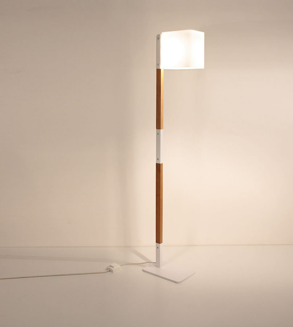Lighthouse F lámpara of Floor Lamp 140cm white/Wood