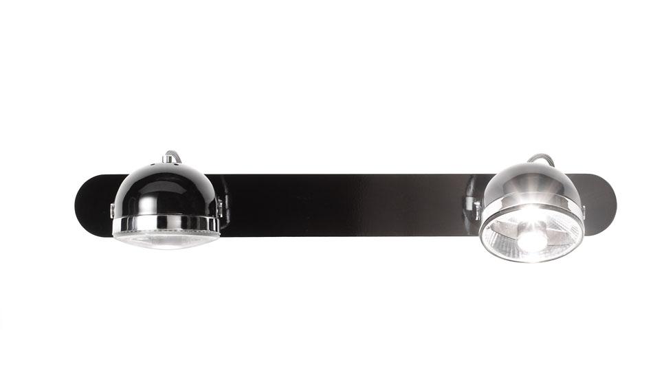 Boogie W2 Aplique Orientable 2L blanco/Cromo
