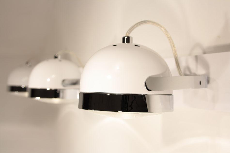 Boogie W3 Aplique Orientable 3L blanco/Cromo