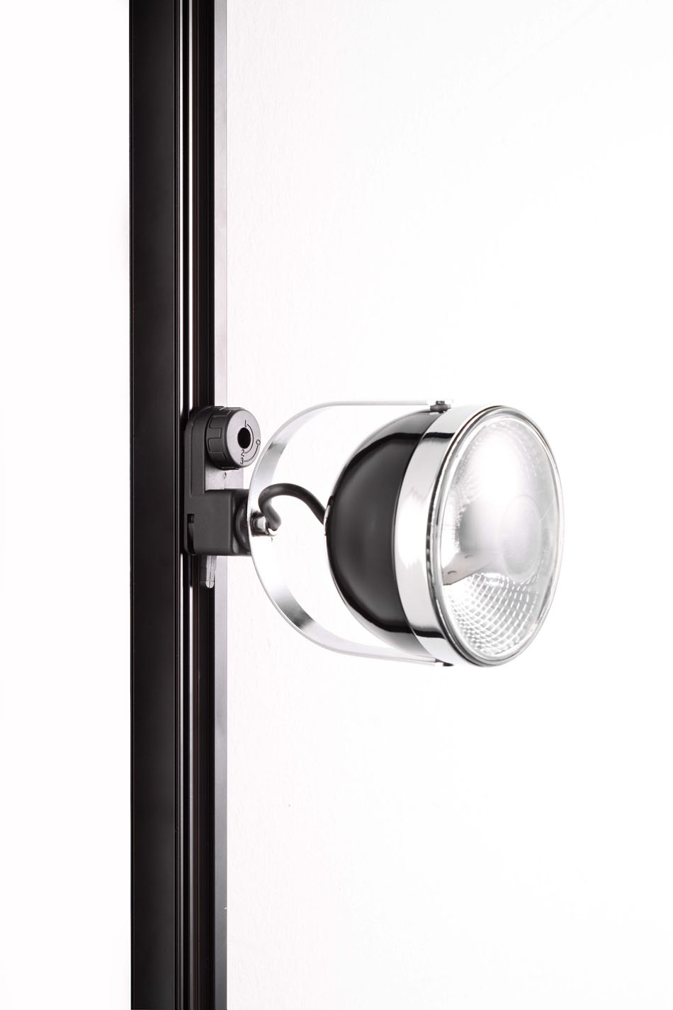Boogie Mini Track C30 ceiling lamp Track Deslizante adjustable LED white/Chrome Black/Chrome