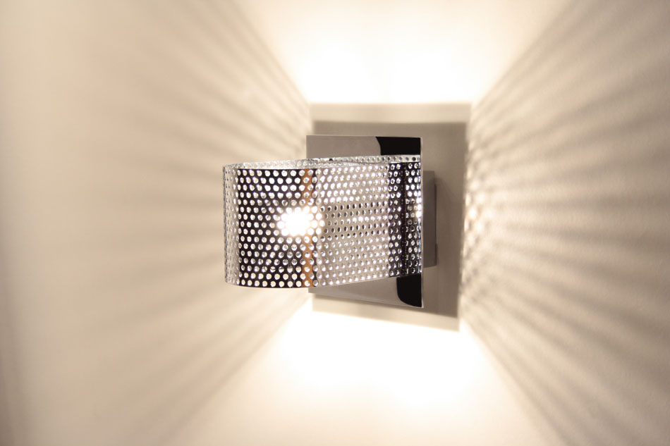 Kendo W1 Wall Lamp Chrome