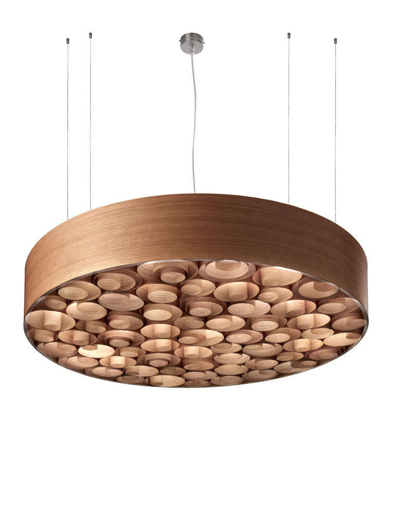 Spiro large Pendant Lamp cherry/cherry