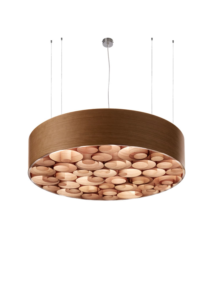 Spiro Pendant Lamp Medium Black