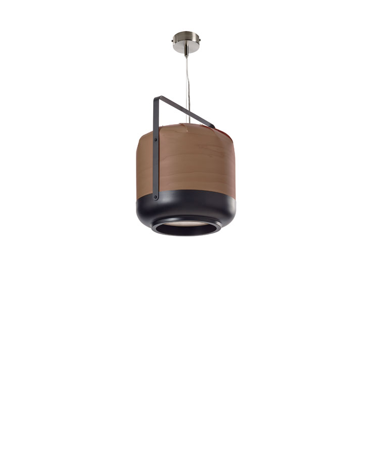 Chou Lamp of Pendant Lamp Medium 37cm E27 1x23w