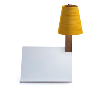 Asterisco Small Table Lamp white Lacado