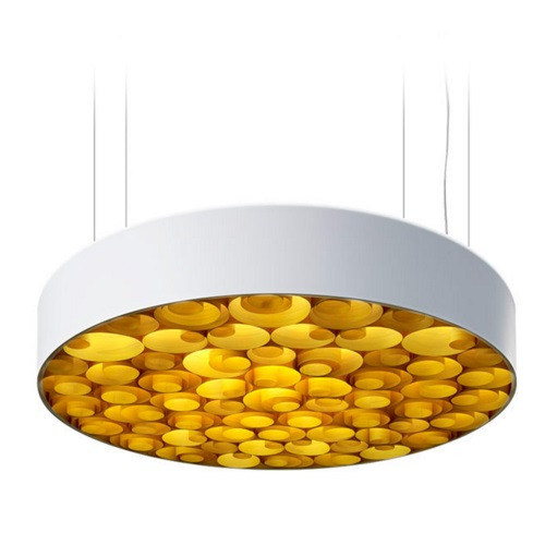 Spiro Pendant Lamp acrílico Large Led 0-10v Dim white