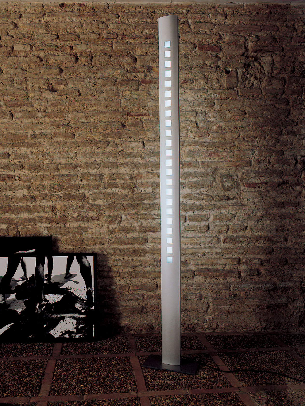 Confort lámpara of Floor Lamp Aluminium 1L