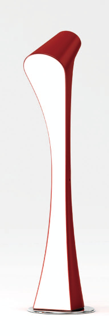 Ora lámpara of Floor Lamp Lacquered net 2L