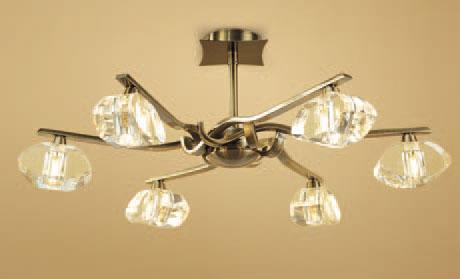 Alfa Lamp Semiceiling lamp Chrome 6L