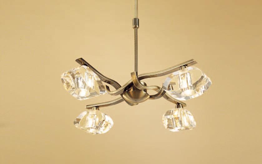 Alfa Lámpara Colgante Cromo 4L