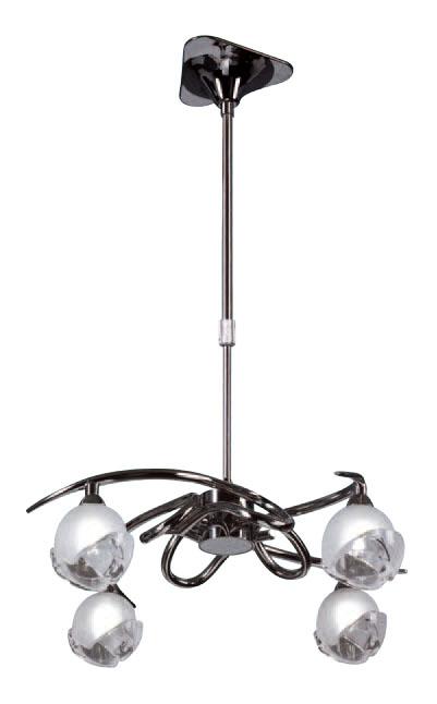Bali Pendant Lamp Chrome 4L G9