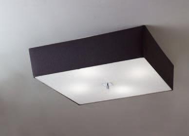 Akira ceiling lamp Chrome/Black 4L