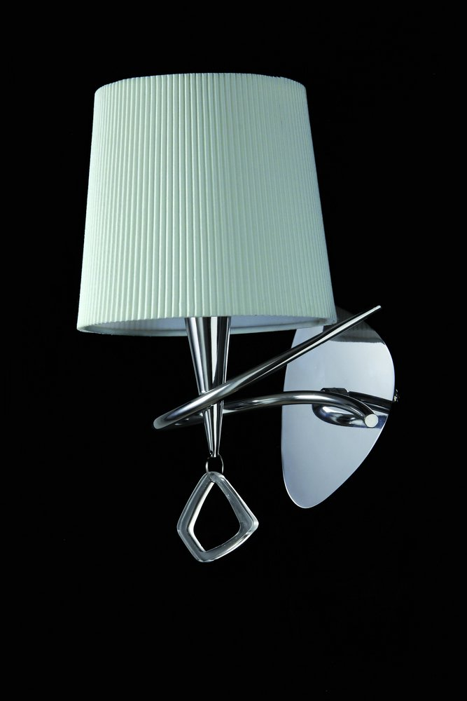 Mara Wall Lamp 15cm E14 20w Chrome white