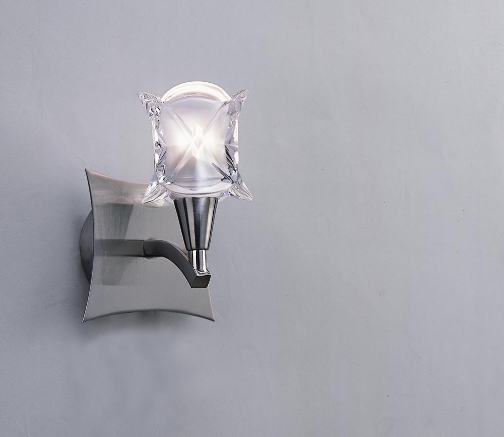 Rosa del Desierto Wall Lamp Nickel Satin 1L
