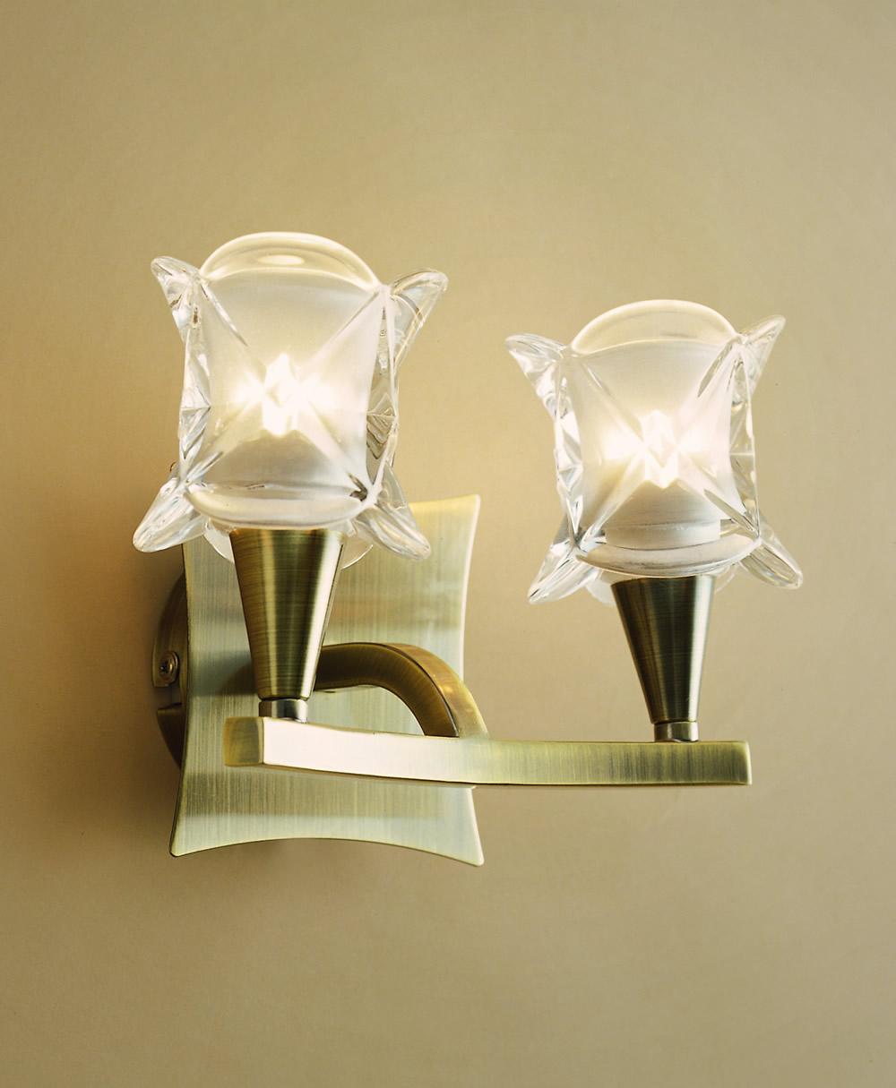 Rosa del Desierto Wall Lamp leather 1L