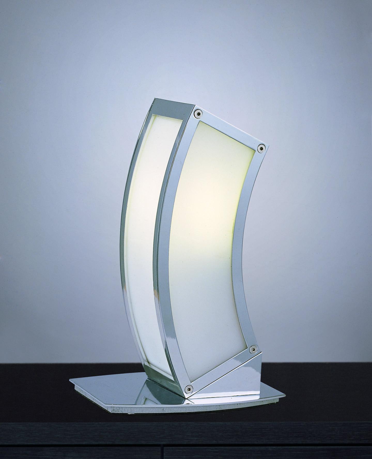 Duna Table Lamp Chrome 1L