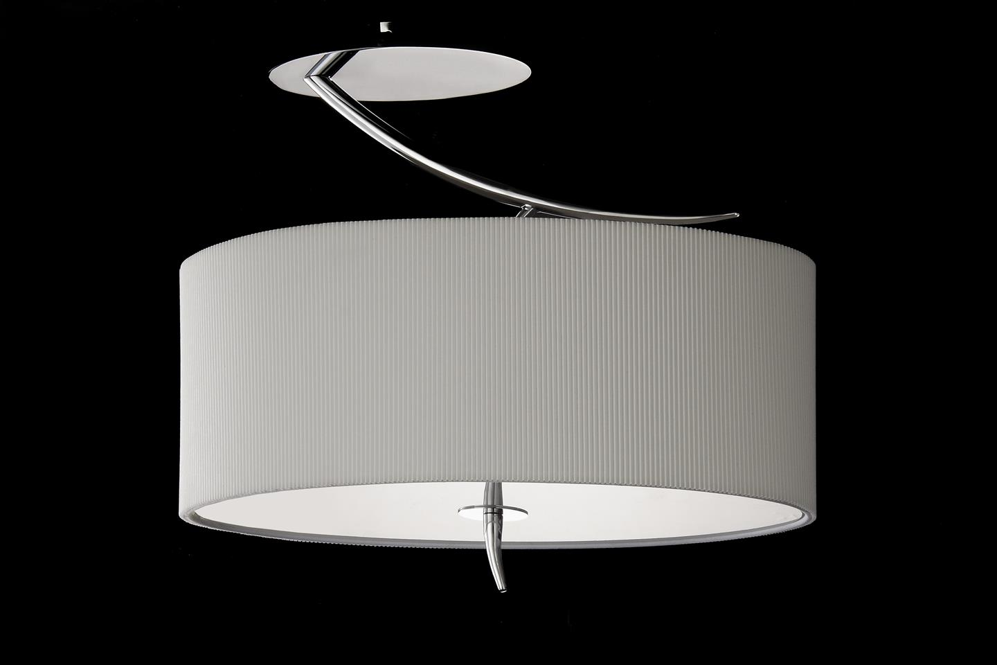 Eve Lamp Semiceiling lamp Chrome/Cream 2L